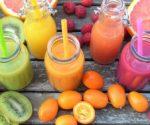 Obst und Smoothies