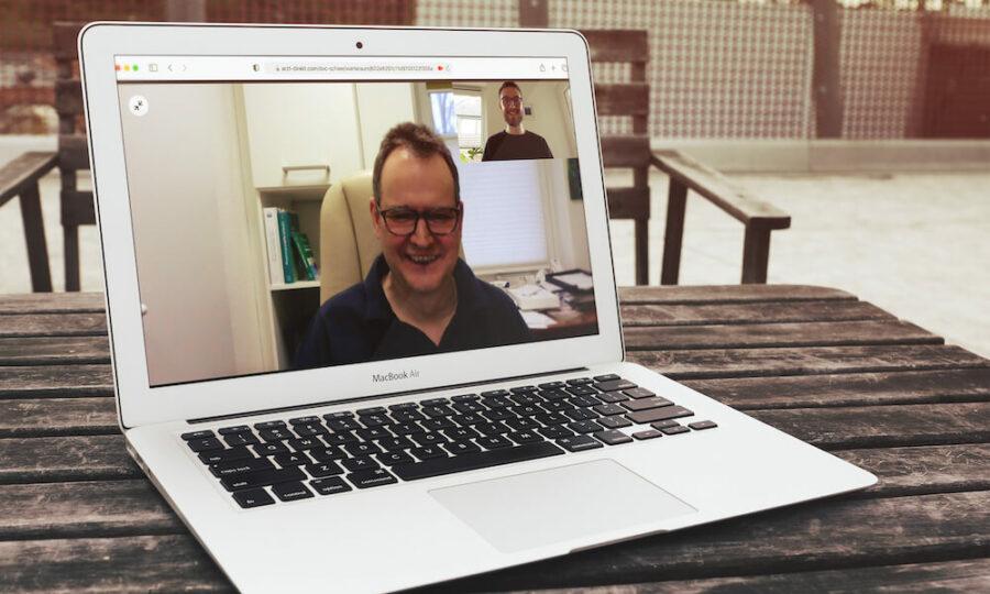 Dr. Michael Scheer im Video-Chat